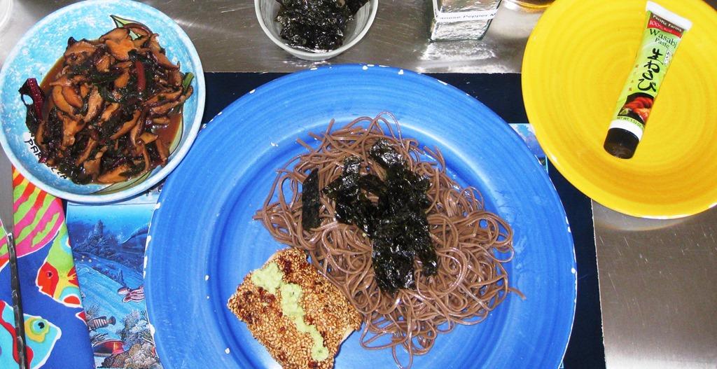 Crisp Wasabi Tuna Recipe — Dishmaps