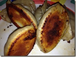 Cooked Pot Stickers bottom